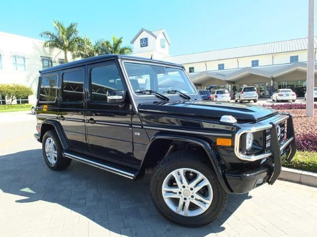 2011 mercedes benz g class g550 4matic sport utility for Mercedes benz utility vehicle