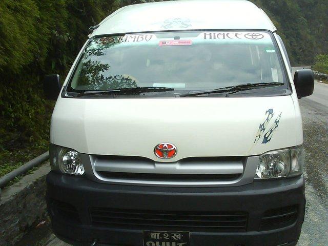 About selling toyota hiace / 2008 Toyota Hiace Nepal Cars